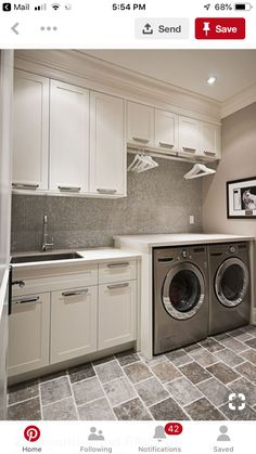 Laundry room cabinets get inspired by our laundry room storage ideas and designs. Allow us to help you create a functional laundry room with plenty of storage and wall cabinets that will keep your laundry. Basement Laundry Room, Room Design, Laundry Mud Room, Mudroom Laundry Room, Laundry Room Layouts, Room Remodeling, Room Storage Diy, Laundry Room Design