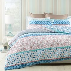 Wallace Heat Pressed Duvet Cover Set - Bed Bath & Beyond