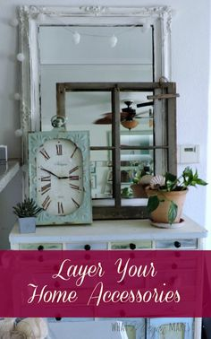 Layer Your Home Accessories #whatmeeganmakes