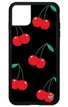 Black Cherry iPhone Plus Case – Wildflower Cases Cute Cases, Cute Phone Cases, Iphone Phone Cases, Iphone Case Covers, Iphone 11 Pro Case, Iphone Case Apple, Wildflower Phone Cases, Gadgets And Gizmos, Tech Gadgets