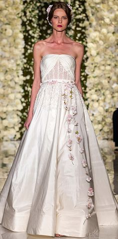 Bridal Fashion Week Looks We Love: Reem Acra #InStyle