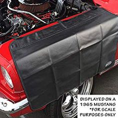 OCM Premium Magnetic Fender Cover - 6 Count Strong Magnets and 3 Count Velcro Straps - Protector Gripper Automotive Mechanic Work Mat with Protective PVC Vinyl Automotive Shops, Fender Flares, Pvc Vinyl, Car Covers, Car Shop, Velcro Straps, Magnets, Strong, Count