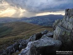 Brecon Beacons Landscape photography Diary....10th August Last Dance with Hurricane Bertha - YouTube