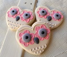 www.sweetsugarbelle.com - owl always love you cookies - tutorial