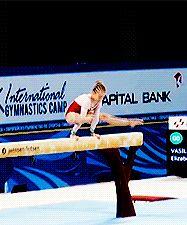 Absolutely gorgeous<3 (gif of Elizabet's Vasileva's beam mount)