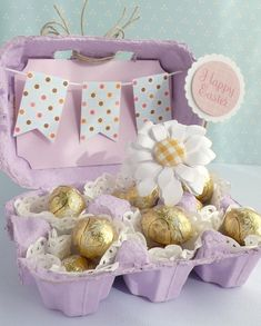 30 Fantastic Easter Gifts for Adults - Get Creative with Some Easter Crafts for Adults Hoppy Easter, Easter Eggs, Easter Table, Easter Gift For Adults, Egg Carton Crafts, Diy Ostern, Easter Projects, Easter Party, Easter Treats