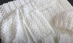 Beautiful Baby Gift Set Free Crochet Tutorials Crochet Baby Cardigan Free Pattern, Baby Afghan Patterns, Baby Booties Free Pattern, Crochet Baby Jacket, Baby Afghan Crochet, Crochet Baby Clothes, Baby Knitting Patterns, Free Crochet, Crochet Patterns
