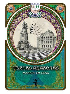 """Co-criação do logo de enredo do GRCSES Unidos de Vila Maria para o enredo """"Teatro Amazonas - Manaus em Cena"""" utilizado e divulgado pela agremiação para o carnaval do Estado de São Paulo de 2010."""