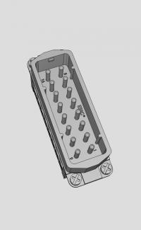 CAD Model: EPIC® H-A 16     Art. Nr. 10532000 #CAD #Engineering #lapp_kabel @lapp_kabel