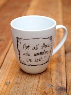 Alice in Wonderland Drink Me Mug by leftofrose on Etsy