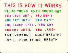 Art by Quoteskin  Words by Regina Spektor