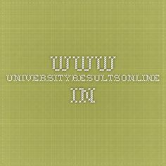 www.universityresultsonline.in