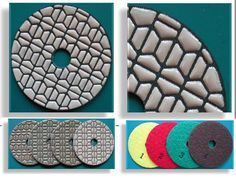 4 Step Dry Polishing Pad made by RM Tech Korea (StoneTools Korea®) provides the highest quality; world top selling more than 500 sets monthly
