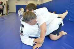 Working on the kimura shoulder lock from guard at the beginner bjj workshop.