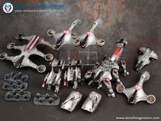 PHR Dropzone ~ DEN OF IMAGINATION Miniature Painting Service
