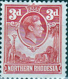 Northern Rhodesia 1938 Animals SG 35 Fine Used SG 35 Scott 35 Other Rhodesia Zambia Stamps HERE