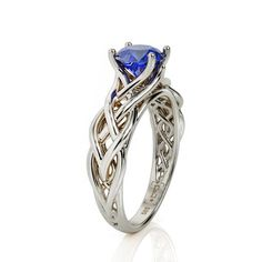 20 Styles of Natural Opal Rings – Your Inspiration and Ideas Braided Engagement Rings, Deco Engagement Ring, Diamond Engagement Rings, Art Deco Ring, Art Deco Jewelry, Fine Jewelry, Celtic Wedding Rings, Celtic Rings, Natural Opal