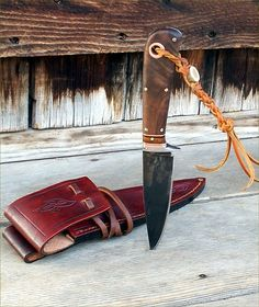 Great working knife made by Cariboo Blades