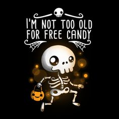 Not Too Old For Free Candy - Halloween Shouldn't Have An Age Limit - Neatorama