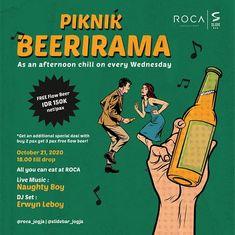 Piknik Beerirama di Artotel Yogyakarta Yogyakarta, All You Can, Special Deals, Live Music, Chill, Dj, Stuff To Buy, Musik