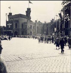 Dworzec Główny w lecie 1938 r.