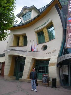 Krazy House - Krzydomek - Sopot, Poland.  Go to www.YourTravelVideos.com or just click on photo for home videos and much more on sites like this.
