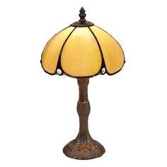 Lámpara de sobremesa Vir estilo Tifanny, 20 x 34 cm