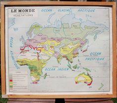 LE MONDE Végétations Gorgeous and Original Vintage par lojaVintage, €78.00