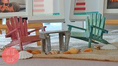 hamacas en miniatura decoracion seatting plan