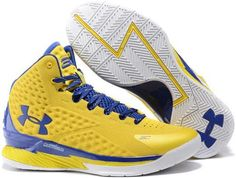 brand new e5eb1 a16a3 Under Armour Stephen Curry One PE Royal Blue Yellow Shoes0 Basketball  Shorts Girls, Blue Basketball