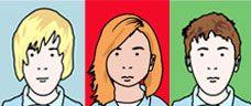 create a self-portrait in the style of artist Julian Opie