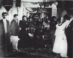 The whole Hawaiian Royal Family in mourning over the loss of Hawaii to the United States August 12, 1898~