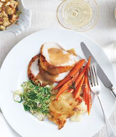 Make-Ahead Thanksgiving Dinner Menu | With these crowd-pleasing recipes that you can prep in advance—plus an easy-to-follow timeline—your table will be deliciously composed this Thanksgiving. As will you.