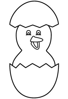 Chicken Easter Coloring Pages from Animal Coloring Pages category. Printable coloring sheets for kids you could print and color. Check out our series and print the coloring sheets free of charge. Chicken Coloring Pages, Egg Coloring Page, Easter Coloring Pages, Coloring Sheets For Kids, Printable Coloring Sheets, Animal Coloring Pages, Colouring Pages, Coloring Books, Colouring Sheets