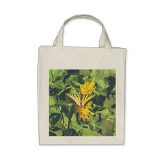 #Butterfly Insects Butterflies Grocery Tote - #flower gifts floral flowers diy