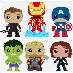 Krafty Nook: Marvel's Avengers Fan Art