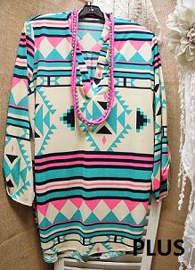 I Can See Clearly Now Tribal Print Shirt