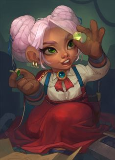 World of Warcraft Dungeons And Dragons Characters, Dnd Characters, Fantasy Characters, Character Concept, Character Art, Concept Art, Dark Souls, Female Gnome, World Of Warcraft Characters