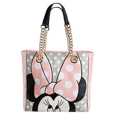 8e000e64cf4 Minnie Mouse Tote for Women by Loungefly - Pink Bolsos Juveniles