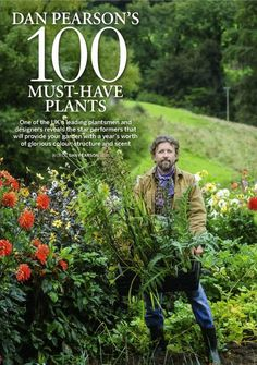 Dan Pearson 100 Must have plants Bog Plants, Garden Plants, Gardening Books, Gardening Tips, Dan Pearson, Sunflower House, Beth Chatto, Garden Inspiration, Garden Ideas