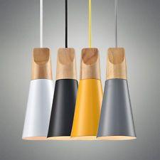 Modern Wooden Wood Chandelier Pendant Lamp Fixture Ceiling Light Lighting 8910HC
