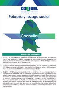 ¡Conoce las Estadísticas de Pobreza en Coahuila! Informe Preparado por el CONEVAL que Incluye los Indicadores de Pobreza en Coahuila.