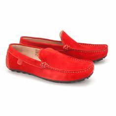 Buy Loafers for Boys Baby - Footwear - Cireo Red Loafers Online India | The Little Shopper