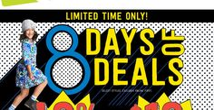 Georgine Saves » Blog Archive » Good Deal: Crazy 8 Eight Days of Deals