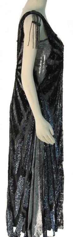 Gillian Darmody's Beaded Evening Dress