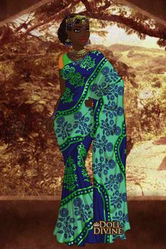 Image result for African Sari