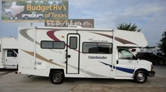 With sleeping for up to six your family will be right there with you creating memories that will last a lifetime! See more great class C motor homes for sale at BudgetRVsOfTexas.com