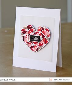 Hello, Heart of Gold!  - Products and inspiration from Neat And Tangled: http://neatandtangled.blogspot.com/