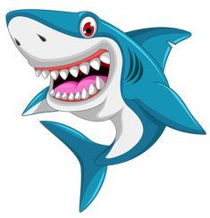 Illustration about Illustration of angry shark cartoon. Illustration of water, marine, swimming - 51688879 Cartoon Fish, Cute Cartoon, Angry Cartoon, Animated Shark, Shark Pictures, Shark Images, Ocean Creatures, Fish Art, Cartoon Drawings