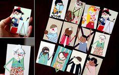 Characters | von Cut Paper Paste